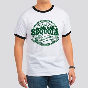 Sequoia Old Circle Green Ringer T